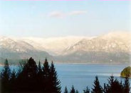 Winter Lake Pend Oreille