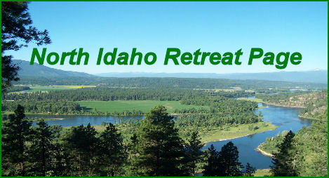 Visit out Boundary and Bonner County Idaho Retreat Survival Page